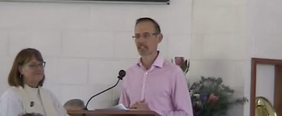 Video clip of Andrew Leigh MP speaking at the induction of Reverend Dr Tim Watson